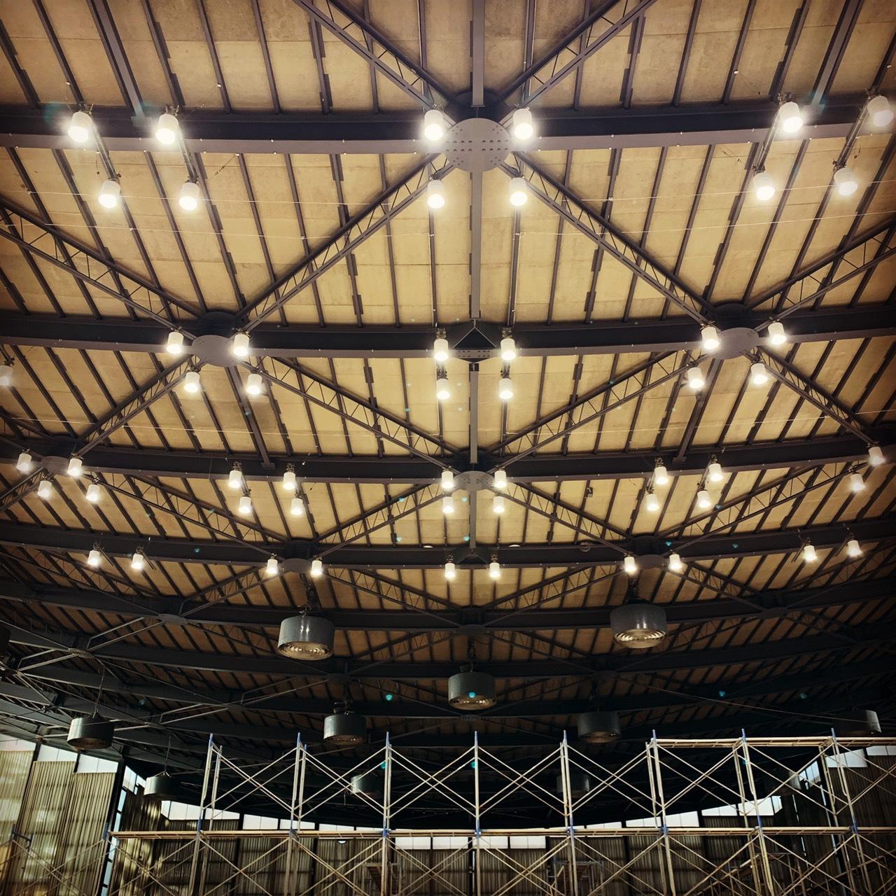 体育館LED化工事